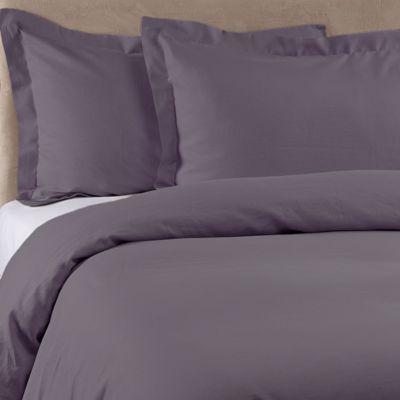 Bellora Basil Queen Pillow Sham in Purple
