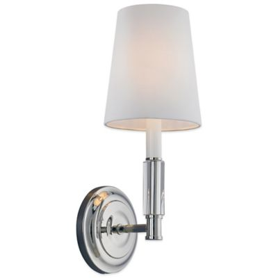 Wall Sconces Bed Bath And Beyond : Buy Feiss Lismore Wall Sconce in Polished Nickel from Bed Bath & Beyond