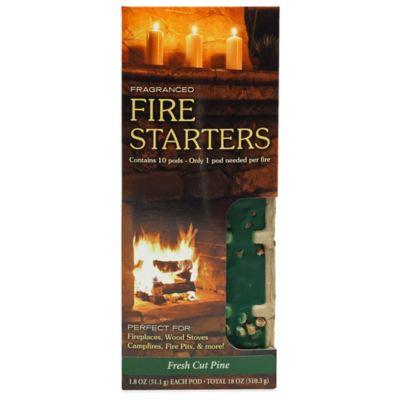 Fire & Spice Fresh Cut Pine Firestarter (10 Pods)