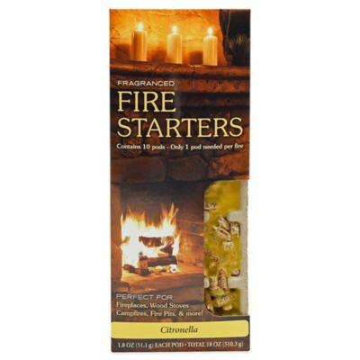 Fire & Spice Citronella Firestarter (10 Pods)