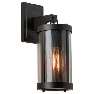 Feiss Bluffton 15-7/8 Inch Outdoor Wall Sconce in Oil Rubbed Bronze
