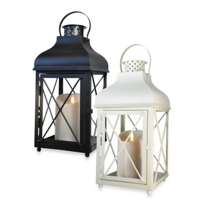 Luminara Churchill Lantern in Black