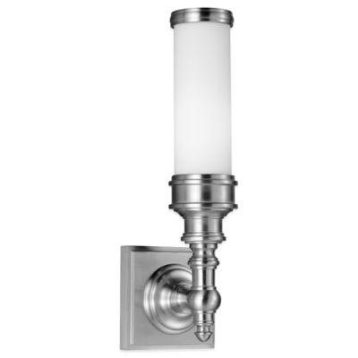 Feiss® Payne Vanity Strip in Brushed Steel