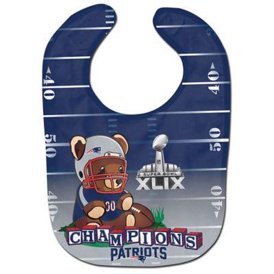 NFL New England Patriots Super Bowl XLIX Champions Bib