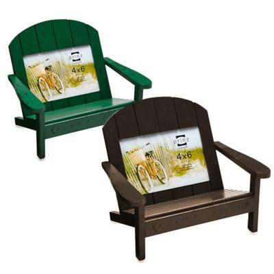 Prinz Adirondack 4-Inch x 6-Inch Bench Frame in Green
