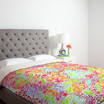 Tropical Print Bedding Duvet Cover
