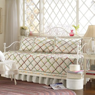 Laura Ashley® Ruffle Garden Daybed Bedding Set