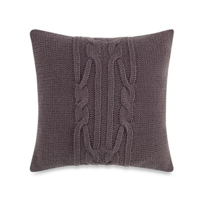 Nautica® Longitude Knit Square Throw Pillow