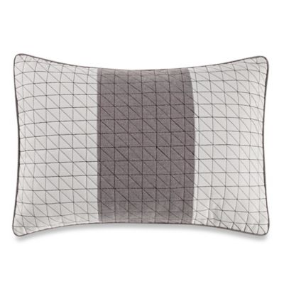 Nautica® Longitude Quilted Breakfast Throw Pillow in Mocha