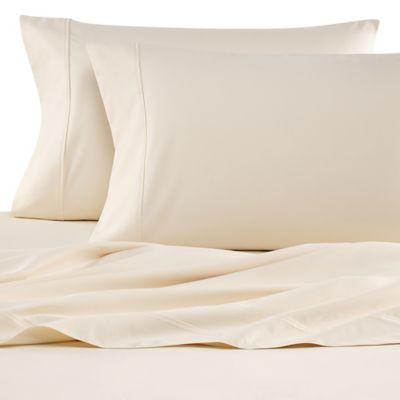 Wamsutta® 620 Egyptian Cotton Deep Pocket Queen Sheet Set in Ivory