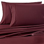 Wamsutta® 620 Egyptian Cotton Deep Pocket Queen Sheet Set in Merlot