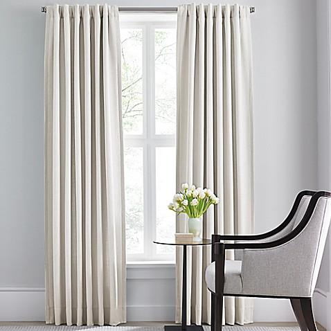 Buy Barbara Barry Modern Drape Rod Pocket Back Tab 120 Inch Window Curtain Panel In Off White