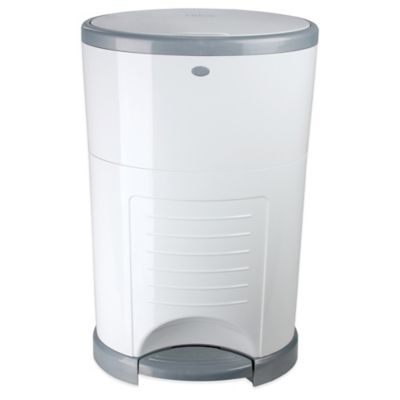 Dékor Mini Diaper Disposal System in White