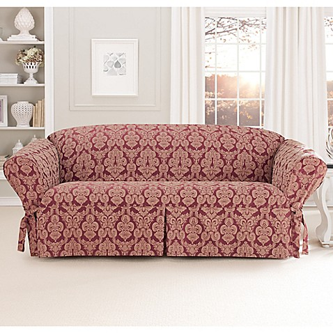 Buy Sure Fit 174 Relaxed Fit Middleton 1 Piece Sofa Slipcover