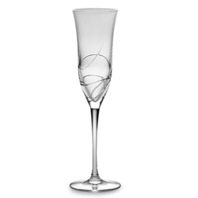 Waterford® Ballet Ribbon Essence Crystal 8-Ounce Toasting Flute