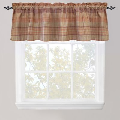 Park B. Smith Sumatra Café Window Valance in Fresco