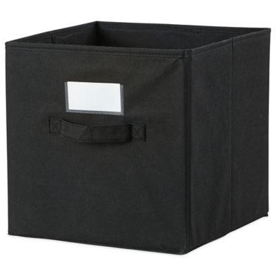 Cube Grid Bins in Black/White (Set of 2)