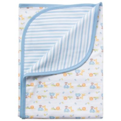 Gerber Organic Cotton Receiving Blanket in Blue