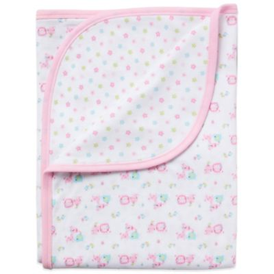 Gerber Organic Cotton Receiving Blanket in Pink