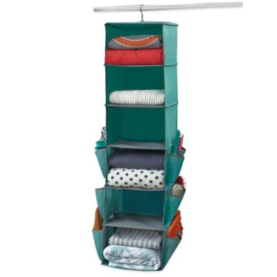 Studio 3B™ Spinning Closet Organizer in Aqua
