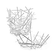 Alessi Stainless Steel Blow Up Baskets