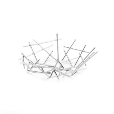 Alessi Stainless Steel Small Blow Up Basket