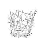 Alessi Stainless Steel Large Blow Up Basket