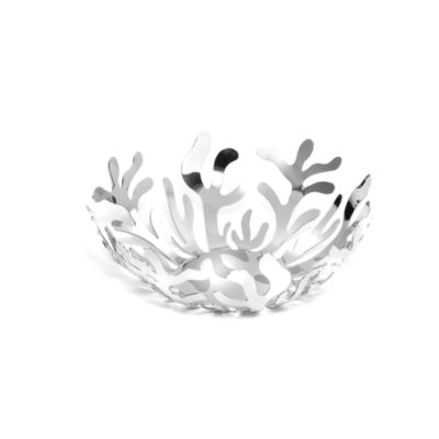 Alessi Mediterraneo Fruit Bowl in Silver