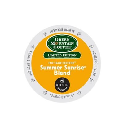 Keurig® K-Cup® Pack 18-Count Green Mountain Coffee® Summer Sunrise® Blend