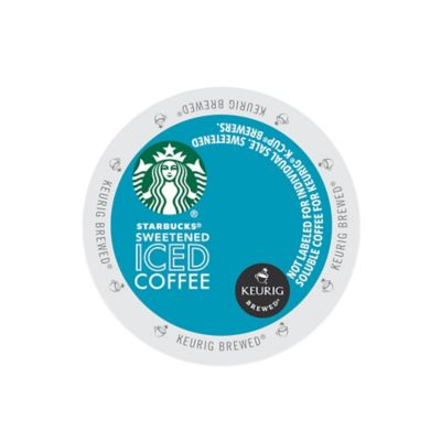Keurig® K-Cup® Pack 16-Count Starbucks® Sweetened Iced Coffee