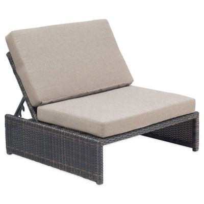 Zuo® Delray Reclining Single Seat in Espresso