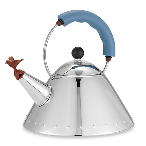 Alessi Michael Graves Stainless Steel Tea Kettle