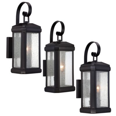 Quoizel Trumbull Wall-Mount Outdoor 14-1/2 Inch Small Wall Lantern
