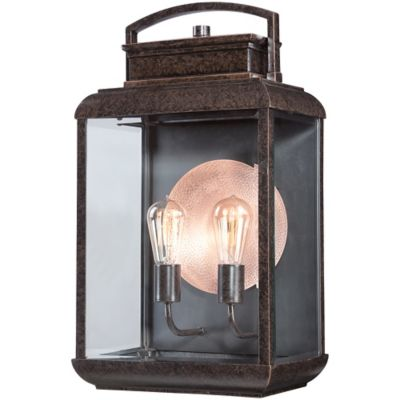 Quoizel Bryon Extra-Large Wall-Mount Outdoor Wall Lantern in Imperial Bronze