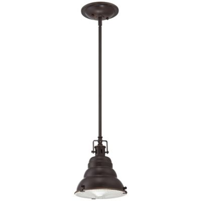 Eastvale Ceiling-Mount Mini Pendant in Palladian Bronze