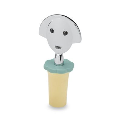 Anna G. Yellow Bottle Stopper by Alessi
