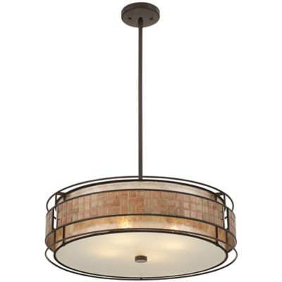 Quoizel Laguna 4-Light Pendant in Renaissance Copper
