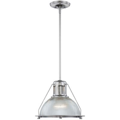 Quoizel Keaton Ceiling-Mount Piccolo Pendant in Polished Chrome