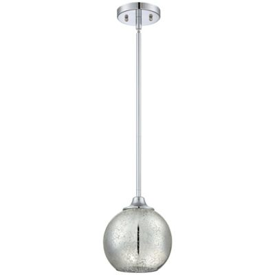 Quoizel Mercer Ceiling-Mount Piccolo Pendant in Polished Chrome