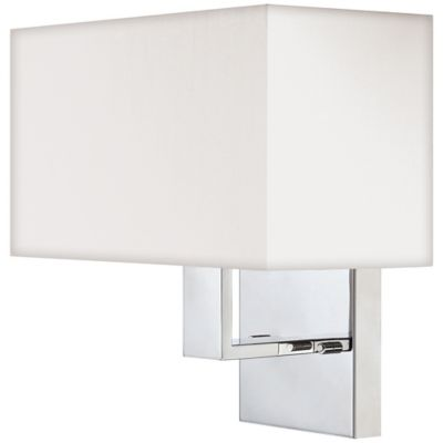 Polished Chrome Wall Sconce