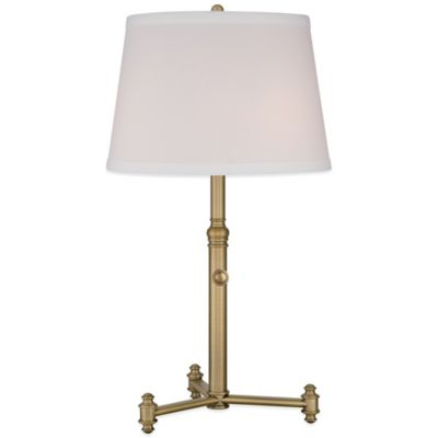 Quoizel Vivid Table Lamp in Aged Brass