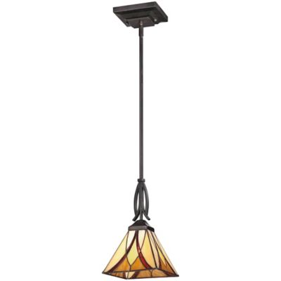 Quoizel Asheville Pendant Light in Valiant Bronze