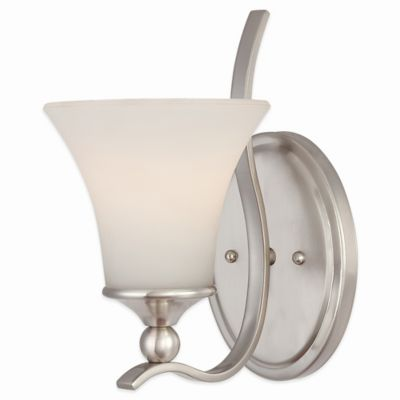 Quoizel Sophia Wall Sconce in Brushed Nickel