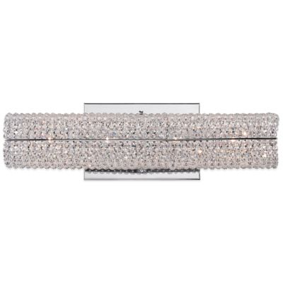 Quoizel Evermore 4-Light Wall-Mount Bath Fixture in Polished Chrome