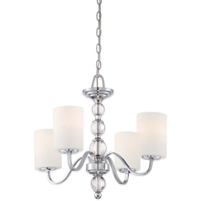 Quoizel Downtown 4-Light Chandelier in Polished Chrome
