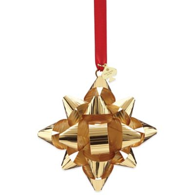 kate spade new york Tinsel Topper™ 4-Inch Ornament in Gold