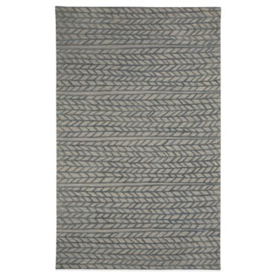 Blue Tufted Rug