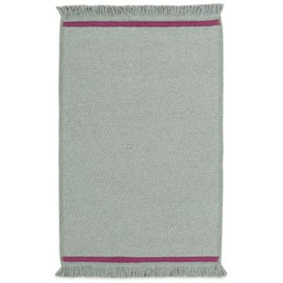 Genevieve Gorder by Capel Rugs The Player 3-Foot x 5-Foot Area Rug in Oslo Grey Dark Blush