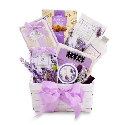 Lavender Relaxation Gift Basket by Alder Creek Gift Baskets