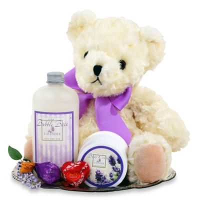 Lavender Spa Tray by Alder Creek Gift Baskets
